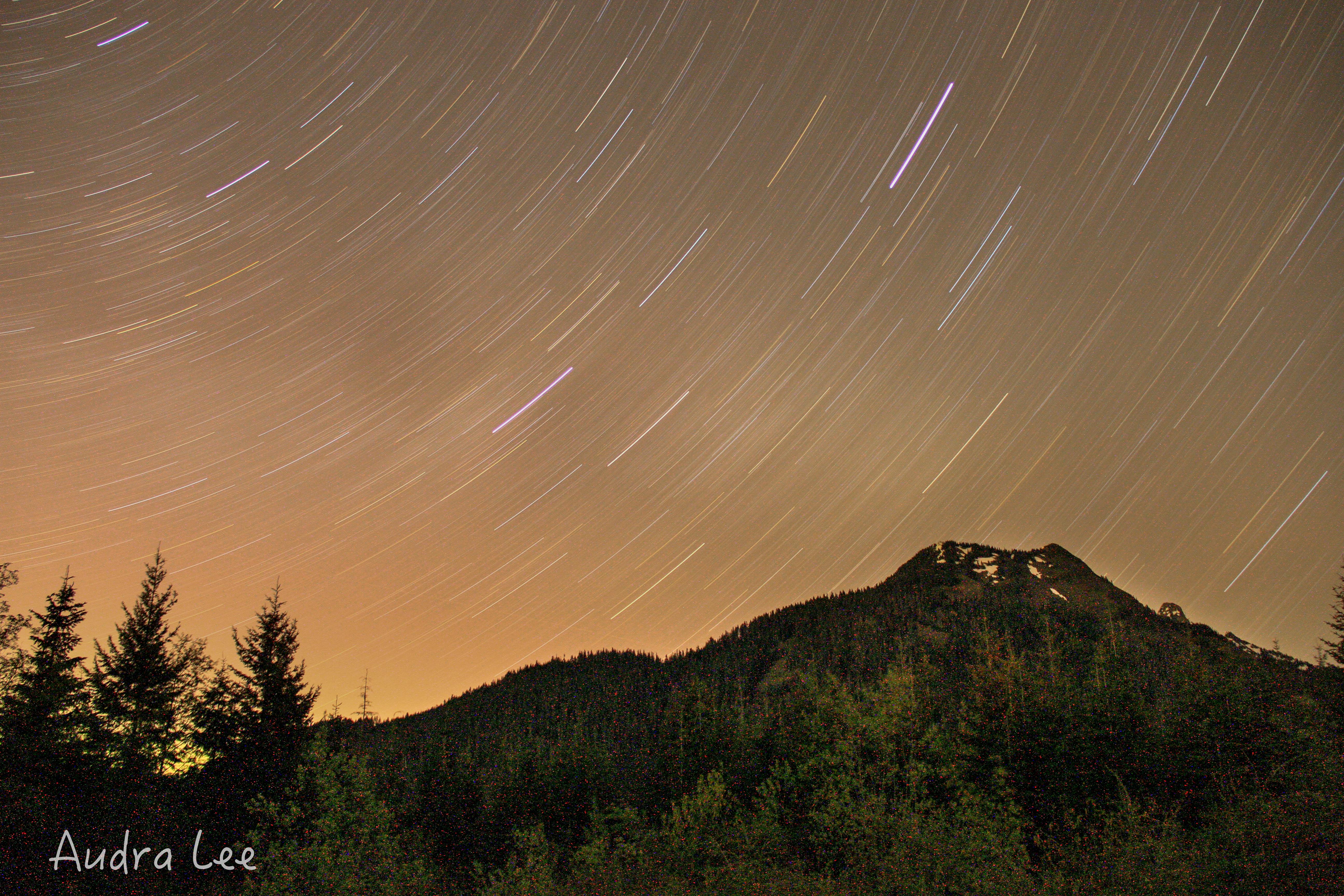 West Church Star Trails