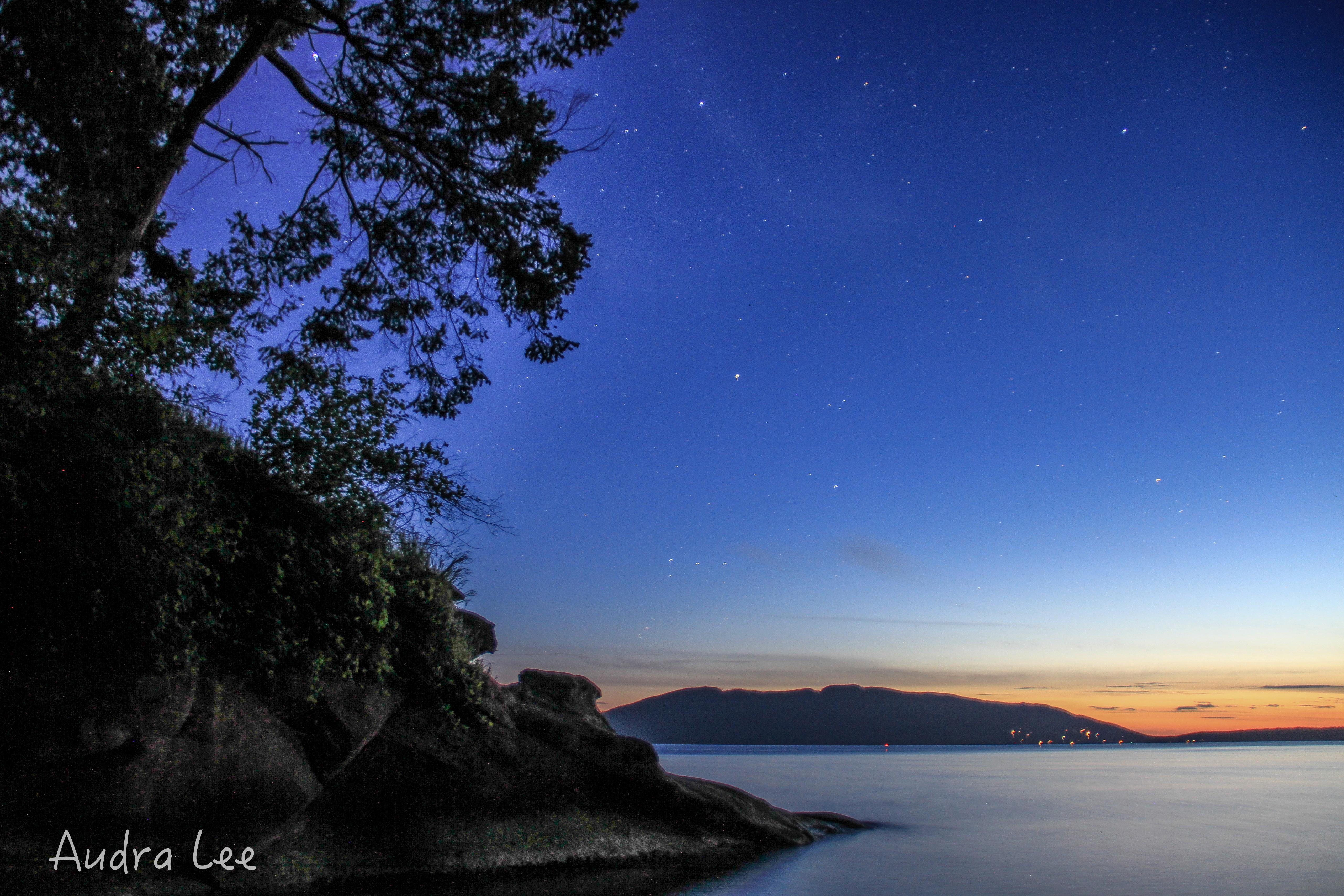 Chuckanut Island Sunset