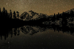 Starry Night and Shuksan