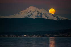 Bellingham Bay Supermoon