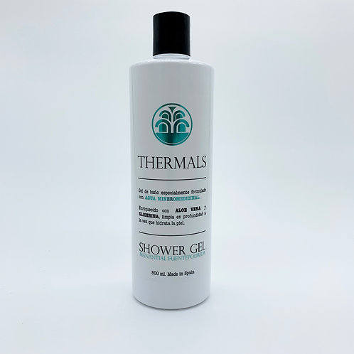GEL DE BAÑO THERMALS 500ml