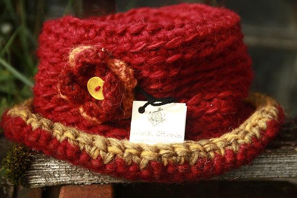 Chapeaux à fleur