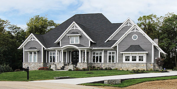 Custom home in Waterford Estates