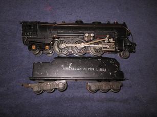 AMERICAN FLYER MINIATURE TRAIN SET 1945 (GILBERT)