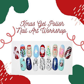 christmas nails, xmas nails, santa, gingerbread man, stars, candycane, nailart, nails, nails christchurch, nailart training, christchurch nail technician, nailtech