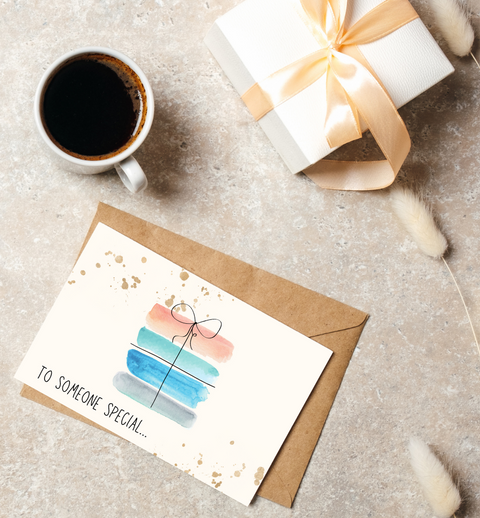 Bespoke Birthday Card