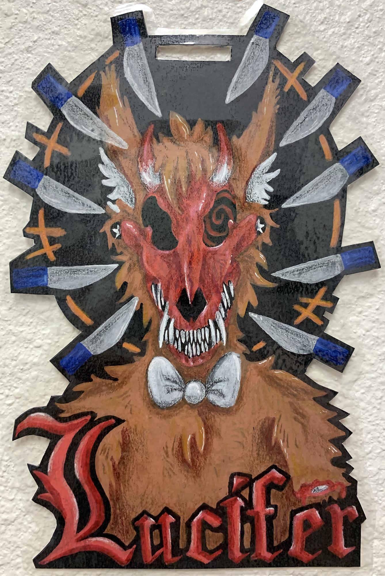 Lucifer Badge