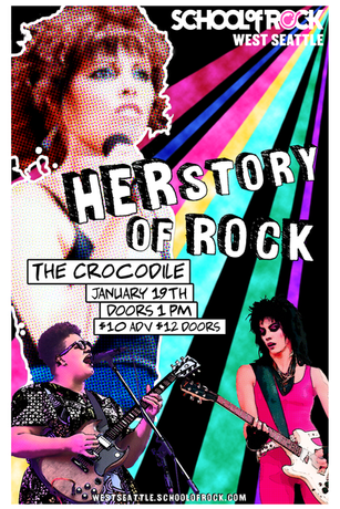 Herstory of Rock - School of Rock West Seattle
