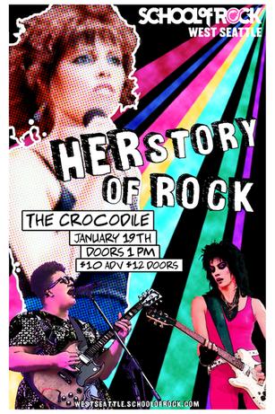 Herstory of Rock - School of Rock West Seattle