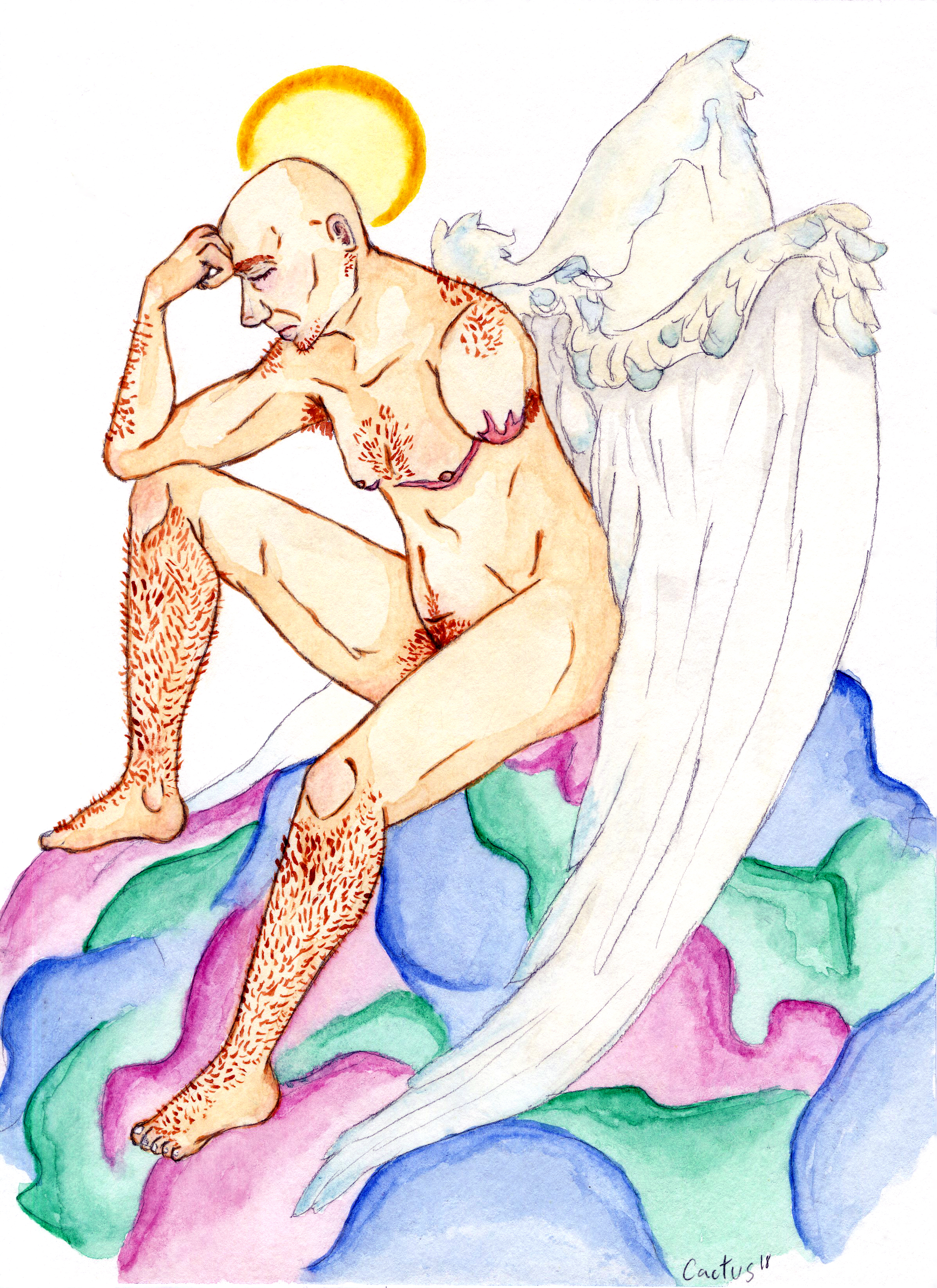 Angel - Figure Drawing