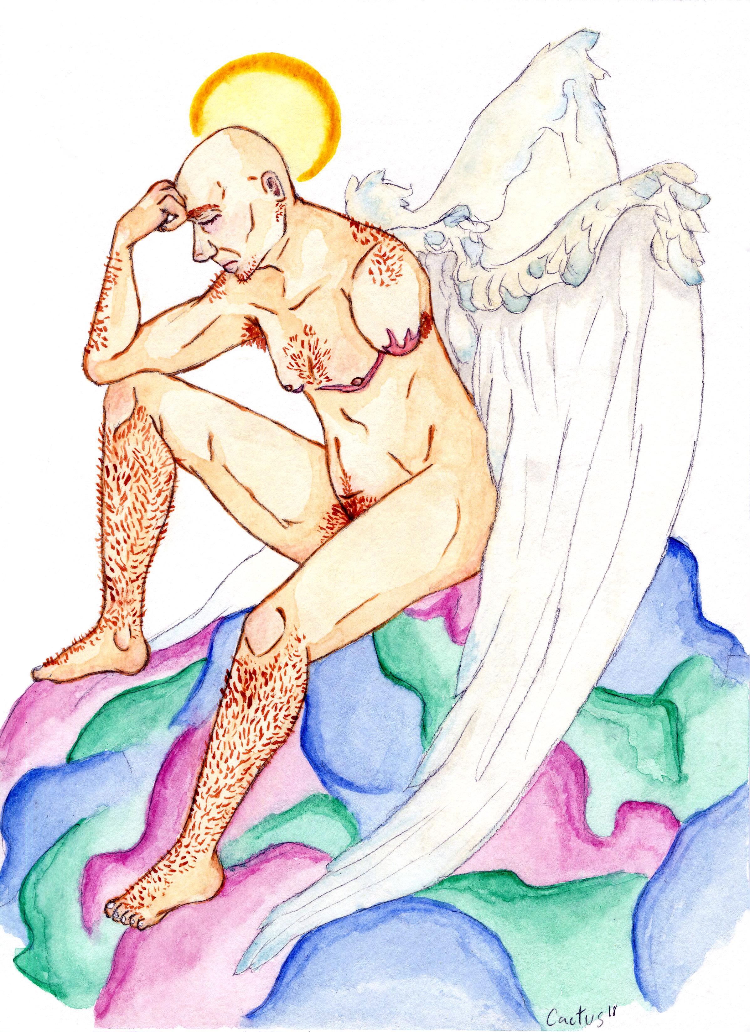 Angel - Figure Drawing