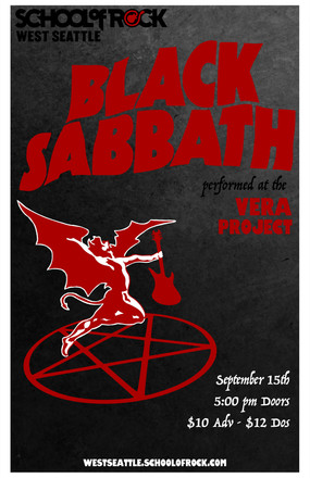 Black Sabbath - School of Rock West Seattle
