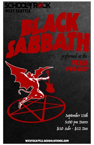Black Sabbath - School of Rock West Seattle