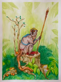 Battle Primate - Night Monkey