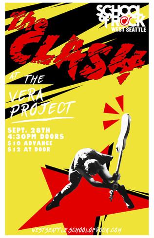 The Clash - School of Rock West Seattle