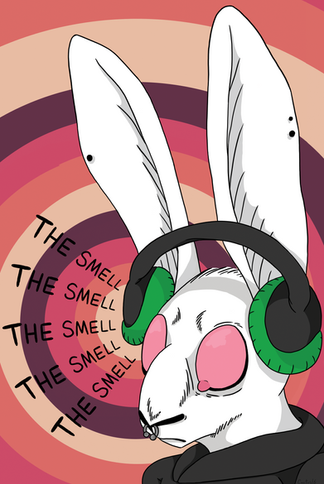 The Smell - Rabbit Poster
