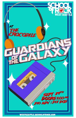 Guardians of the Galaxy - School of Rock West Seattle