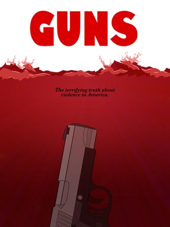 Guns - Gun Violence Poster