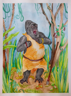 Battle Primate - Gorilla