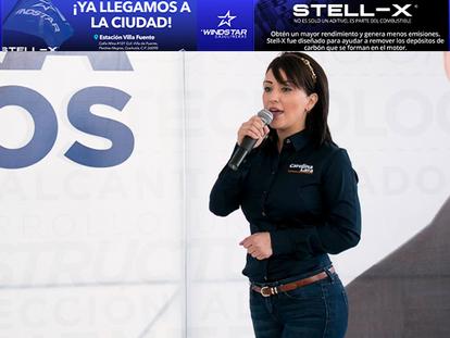 La aguapretense Carolina Lara Moreno, única mujer que es dirigente estatal de un partido en Sonora