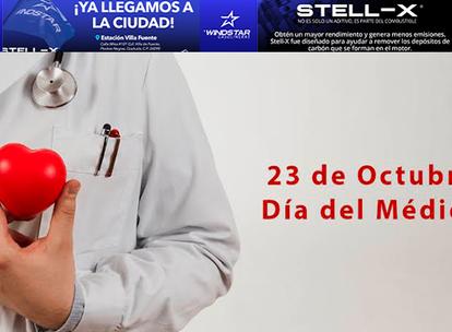23 de Octubre, Día del Médico: frases para felicitar a todos los doctores de México