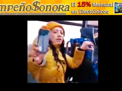 """VIDEO: Surge """"LADY ME VALE"""", por andar sin cubre bocas en transporte público y golpear a enfermera!!"""