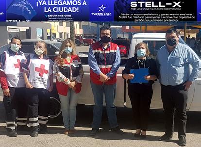 VIDEO: Donan VELCROMEX e INDEX Agua Prieta una camioneta a la Cruz Roja local!!