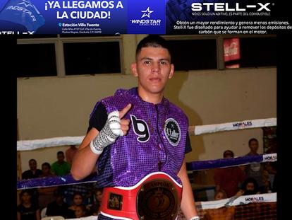 Roberto Valenzuela Jr. destroza de manera contundente en el segundo round, a su rival!!