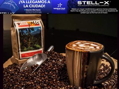 La felicidad también es un CAFÉ JUSTO y más contigo…el mejor café de la región!!!
