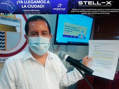 """""""En Agua Prieta se está apostando por proyectos grandes"""": Alcalde Alfonso Montaño"""