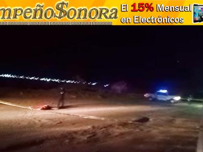 VIDEO: Muere hombre atropellado en Fraccionamiento Santa Fe, en Agua Prieta!!