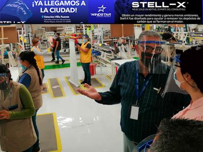 En NACO: Agradece Andrea Ramos a Levolor por instalación de red de fibra óptica