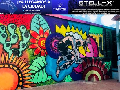 """Presenta otro mural el talentoso artista de NACO, Abel Guerrero: """"El Venado"""""""