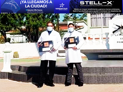 Condecoran a dos médicos de Agua Prieta, con la más alta presea a nivel nacional