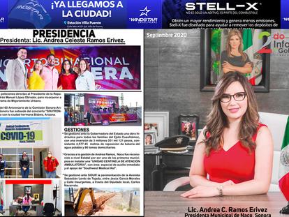 FOTOS: Publica La Bartolina edición impresa del Segundo Informe de Gobierno de Andrea Ramos