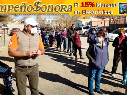 """Grupo """"Amigos Por Agua Prieta"""" entrega carteras de huevo a familias vulnerables de diversas colonias"""
