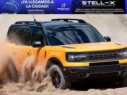 FORD BRONCO SPORT: Creada para los amantes de la adrenalina, excursionistas y viajeros!!!
