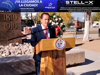 VIDEO: Alcalde encabeza Conmemoración de la Revolución Mexicana, en Agua Prieta