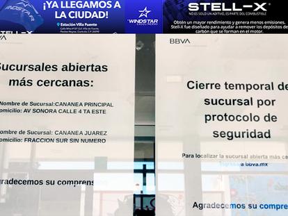 Cierra Bancomer su sucursal en Agua Prieta, debido al protocolo de seguridad!!