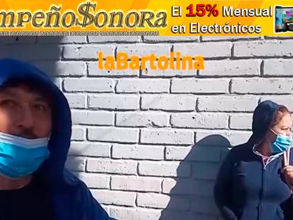 """VIDEO: Trabajadores de la empresa """"Recolección y Logística"""" en paro de labores, en Agua Prieta!!"""