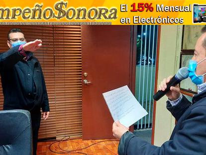 Toma protesta César González Cruz como nuevo Contralor en Agua Prieta