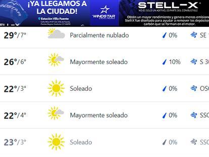 Pronostican mucho frío para la próxima semana en Agua Prieta