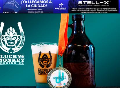 LUCKY MONKEY llevará su cerveza artesanal al Mercadito Artesanal, este sábado y domingo en APSON!!