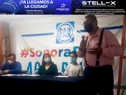 VIDEO:Presenta Dr. Rafael Oseguera carta intención al PAN, por la candidatura a la Diputación Local