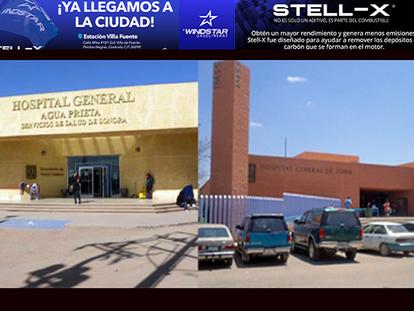 Agua Prieta, entre las 3 ciudades de Sonora con mayor saturación en hospitales, por COVID 19!!!