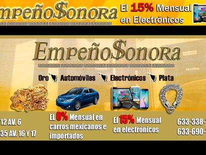 ¿Necesitas dinero? En Empeño Sonora están listos, interés 6% mensual en carros mexicanos importados