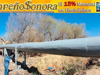 Finaliza obra de restauración de colector de drenaje en colonia Empacadora, en APSON