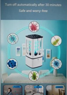 Mini Lámpara Esterilizadora