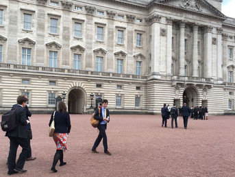 Afternoon tea at Buckingham Palace
