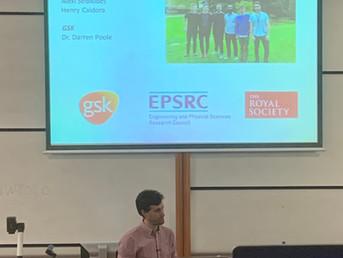 Ali Presents at RSC Organic Division Regional Meeting in Oxford